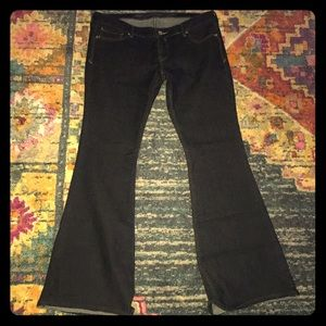BNWOT express flare jeans